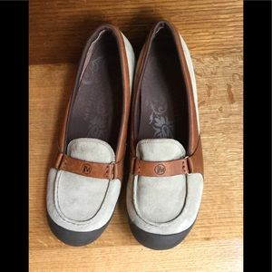 Merrell Suede and Leather loafer